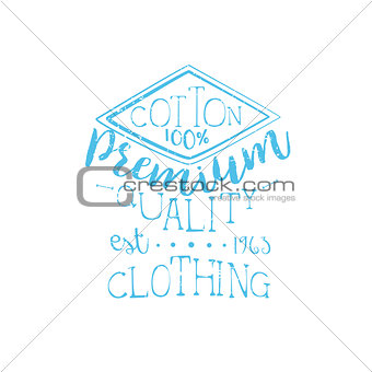 Cotton Clothing Vintage Emblem