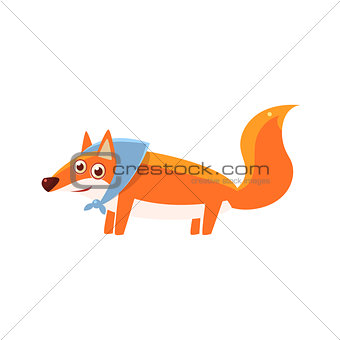 Fox Wearing Headscarf