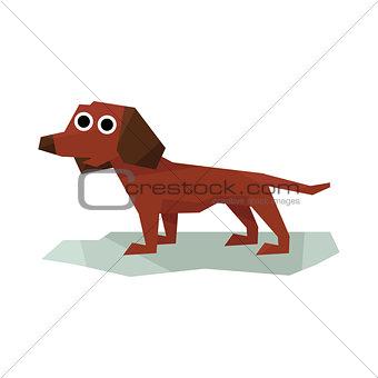 Dachshung Brown Dog
