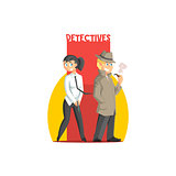 Private Detectives Couple Banner