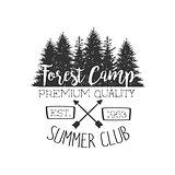 Summer Club Vintage Emblem