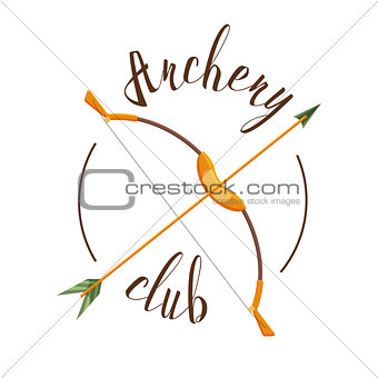 Archery club logo