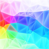 vector  low poly art, background