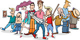 cartoon people group