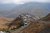 Xinaliq mountainous village in Azerbaijan
