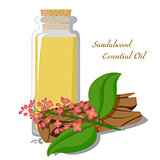 Essential oil of sandalwood