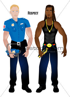 Black Man White Cop