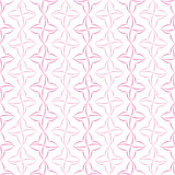 Stylized Four-Petal Flower Background