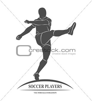 football player silhouette