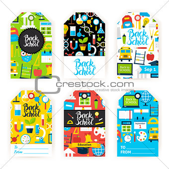 Back to School Gift Label Set