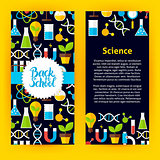 Flyer Template Back to School Science