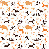Cave drawings theme