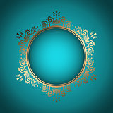 Decorative frame background