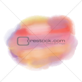 Watercolor colors background