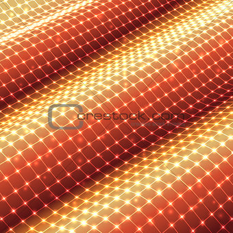 Abstract Geometric Mesh Background