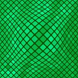 Green Diagonal Square PatternBackground