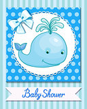 little whale greeting card