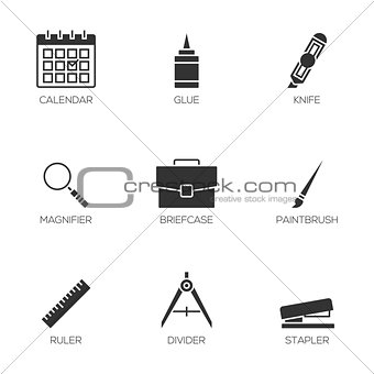 Office tools icons vol 3