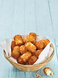 rustic golden potato tater tots