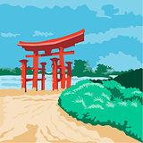 Torii Japanese Gate WPA