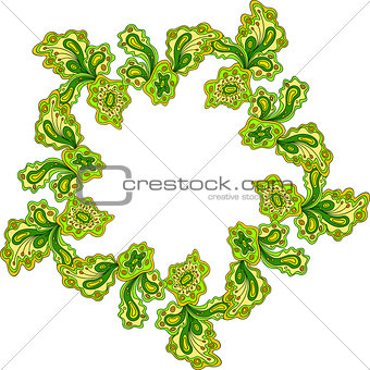abstract ornament, indian style