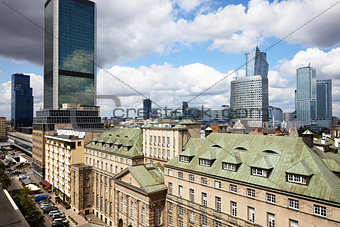 Old and new Warsaw