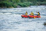 Family River Rafting