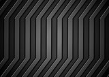 Dark concept stripes technology abstract background