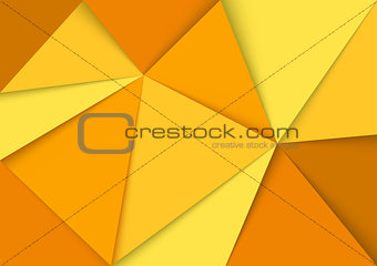 Abstract Yellow Mosaic Background