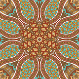 Abstract grunge ethnic seamless pattern ornament