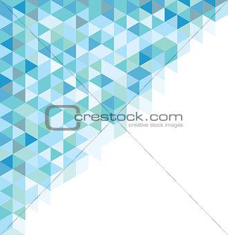 Abstract symbol azul