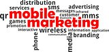 word cloud - mobile marketing