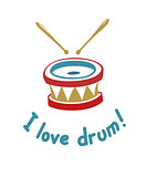 Drum. Music instrument.