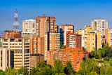Madrid, Spain Cityscape