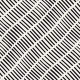 Vector Seamless Hand Drawn Rough Diagonal Lines Pattern
