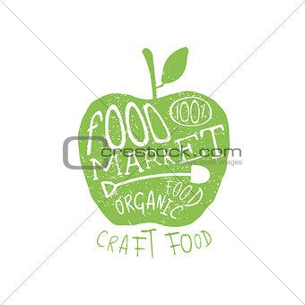 Food Market Vintage Emblem