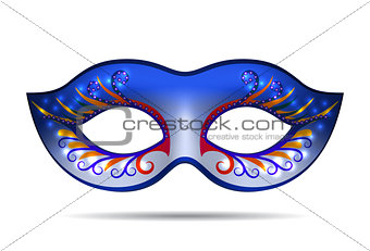 Carnival mask for masquerade costume.