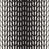 Vector Seamless Black And White Tire Halftone Lines Geometric Pattern