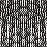 Vector Seamless Rhombus Grid Lines Geometric Pattern