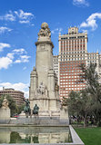 Cervantes Monument, Madrid