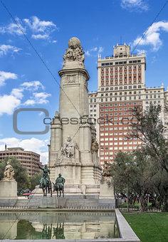 Cervantes Monument, Madrid