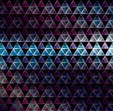 Abstract 3d geometricbroken glass lines modern grunge vector background.