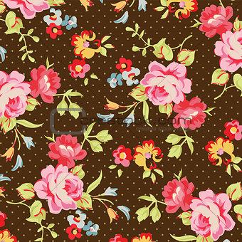 Beautiful floral seamless pattern.