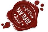 Fair tradel label seal