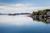 Beautiful view on nowegian fjords