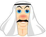 Portrait of the moslem