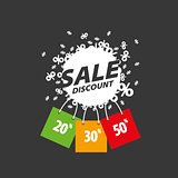 vector sign for discounts
