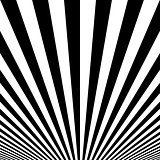 Striped poster background.