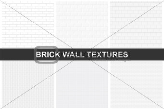 Brick wall textures - seamless.