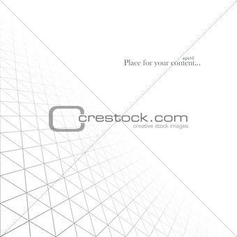 Abstract white infinite background.